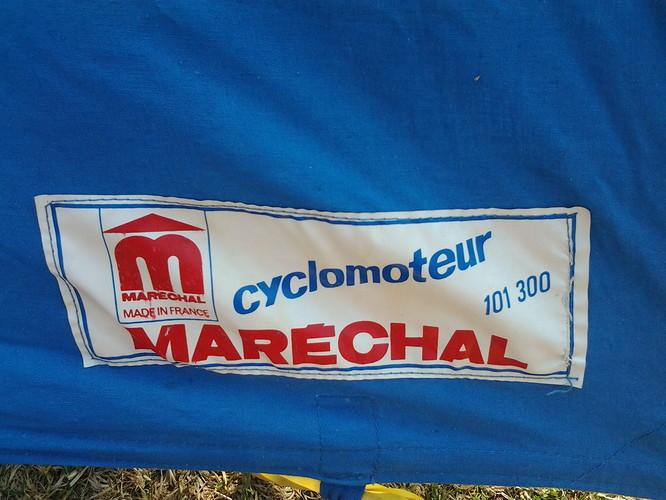 Tent Marechal Cyclometeur 101 300 etikette