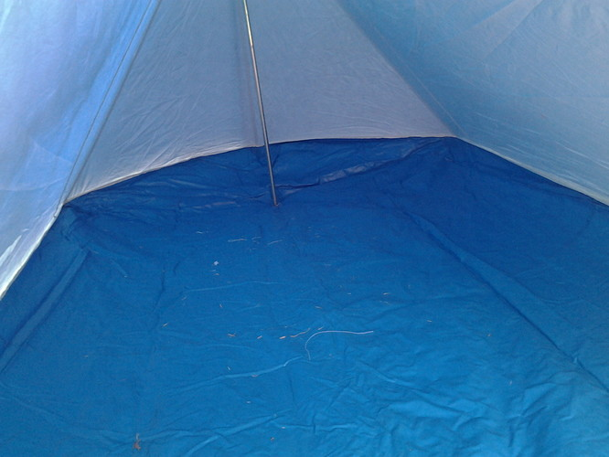 Tent Marachel J J 101 100 small inside groundsheet