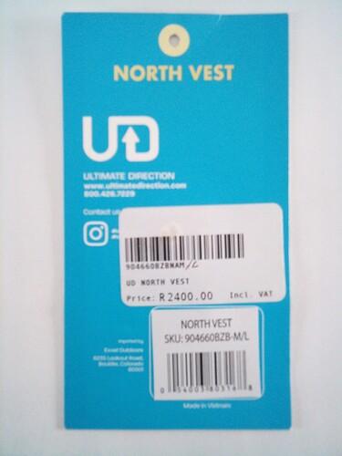 UD North Vest Tag