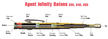 ASP AIC Steel Baton 50cm_04